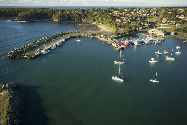 Mollymook Accommodation - Ulladulla Harbour